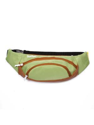 Сумка TRUESPIN Wisst Bag F.Bottom True Spin. Цвет: зеленый