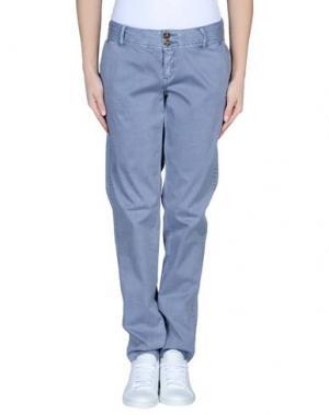 Повседневные брюки TIMEOUT. Цвет: лазурный