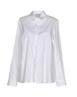 Pубашка CAPPELLINI by PESERICO. Цвет: белый