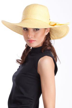 Шляпа Tonak. Цвет: желтый