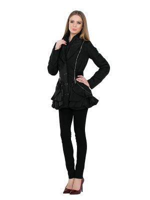 Куртка Alisa Line. Цвет: черный