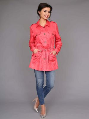Куртка nasha. Цвет: коралловый