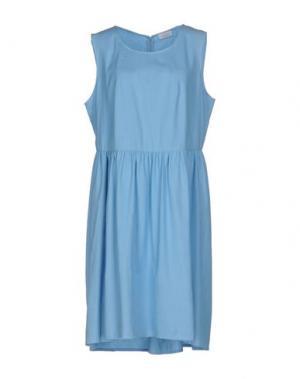 Платье до колена VAN LAACK. Цвет: небесно-голубой