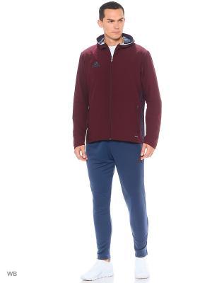 Спортивный костюм Adidas. Цвет: бордовый