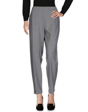 Повседневные брюки ANTONELLI. Цвет: серый