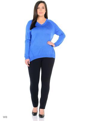 Пуловер Modis. Цвет: синий, лазурный, серо-голубой