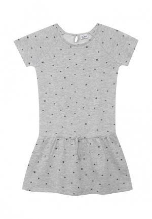 Платье Blukids. Цвет: серый