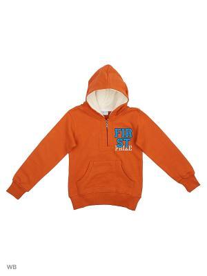 Худи Orso Bianco. Цвет: оранжевый