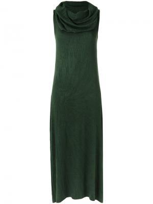 Maxi dress Uma | Raquel Davidowicz. Цвет: зелёный