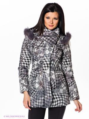 Куртка Alisa Line. Цвет: серый