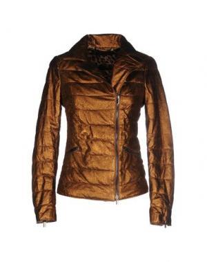 Куртка VINTAGE DE LUXE. Цвет: бронзовый
