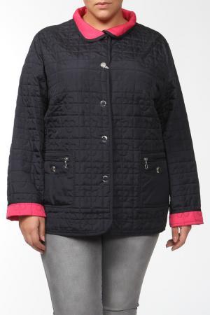Куртка двухсторонняя GODSKE. Цвет: синий, розовый