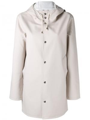 Hooded raincoat Stutterheim. Цвет: розовый и фиолетовый