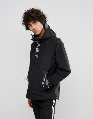 AAPE BY A BATHING APE Куртка. Цвет: черный