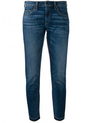 Укороченные джинсы Dre Rag & Bone. Цвет: синий