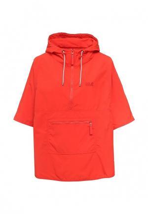 Куртка Jack Wolfskin. Цвет: красный