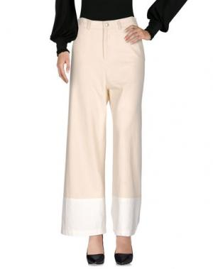 Повседневные брюки SEA. Цвет: слоновая кость