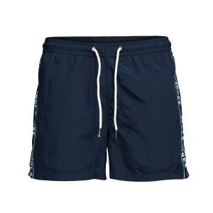 Шорты пляжные JACK & JONES. Цвет: синий,темно-синий