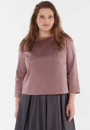 Блуза W&B. Цвет: розовый