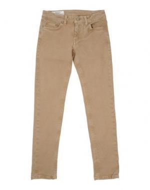 Джинсовые брюки DONDUP DQUEEN. Цвет: бежевый