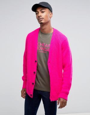 Cheap Monday Кардиган. Цвет: розовый