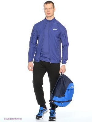 Ветровка Woven Jacket ASICS. Цвет: синий