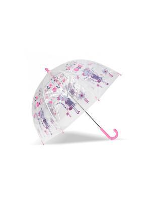 Зонты Isotoner. Цвет: прозрачный