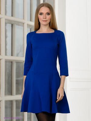 Платье Allezye. Цвет: синий