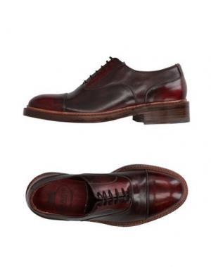 Обувь на шнурках HARRIS. Цвет: красно-коричневый