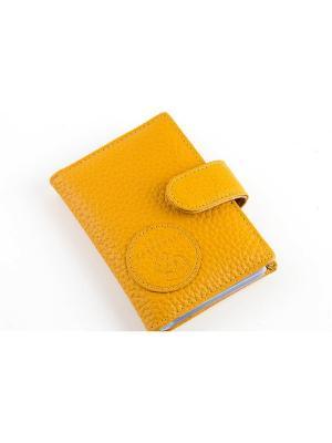 Визитницы TOPO FORTUNATO. Цвет: желтый