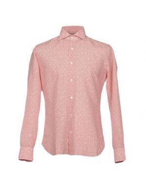 Pубашка DANDYLIFE by BARBA. Цвет: красный