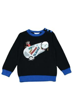 Пуловер Little Marc Jacobs. Цвет: темно-синий