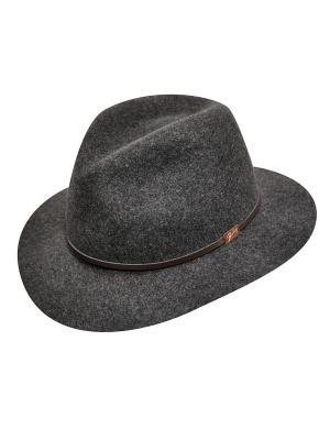 Шляпа Bailey. Цвет: темно-серый