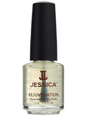 Базовое покрытие с маслом жожоба для сухих ногтей Rejuvenation, 7,4 мл JESSICA. Цвет: прозрачный
