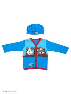 Комплект одежды PELICAN. Цвет: синий, голубой