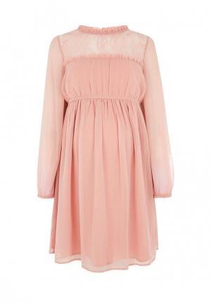 Платье Topshop Maternity. Цвет: розовый