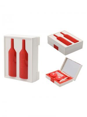 Набор для контактных линз WINE К1606-С01 Germes. Цвет: красный, белый