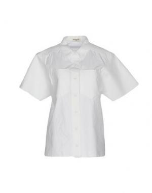Pубашка VERONIQUE LEROY. Цвет: белый