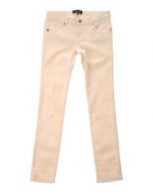 Джинсовые брюки TWIN-SET Simona Barbieri. Цвет: слоновая кость