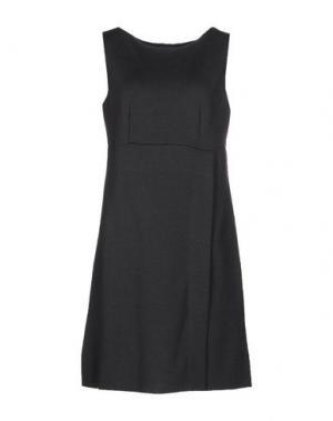 Короткое платье CHARLOTT. Цвет: серый