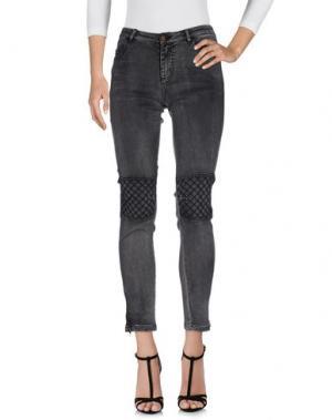 Джинсовые брюки CHARLISE. Цвет: серый