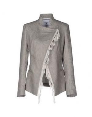 Пиджак DONDUP. Цвет: серый