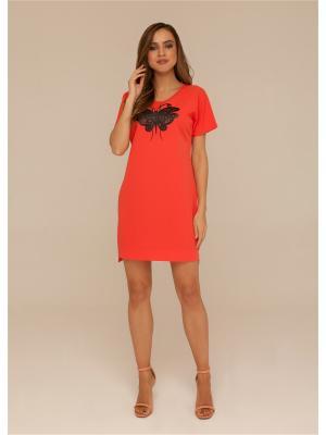 Платье летнее из текстильного полотна ORHIDEA
