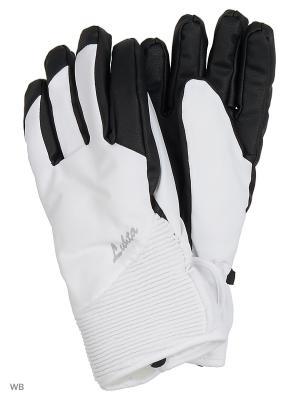 Перчатки Luhta. Цвет: белый