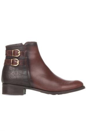 Ботинки EVA LOPEZ. Цвет: коричневый