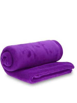 Плед AMO LA VITA. Цвет: фиолетовый