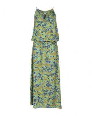 Длинное платье VERDISSIMA. Цвет: зеленый