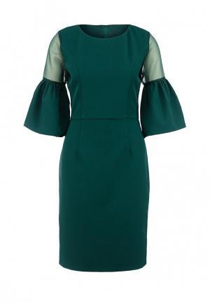 Платье LAMANIA. Цвет: зеленый