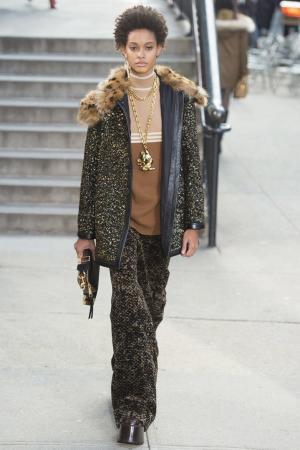 Шерстяное пальто с пайетками Marc Jacobs. Цвет: черный