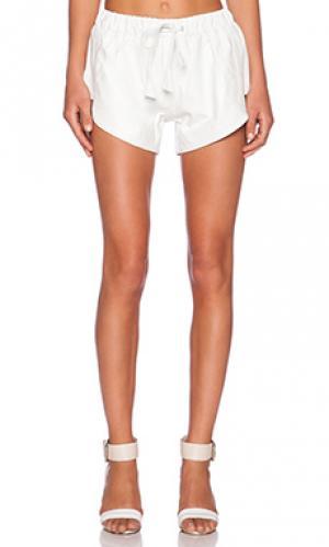 Тренировочные шорты Jennifer Kate. Цвет: белый